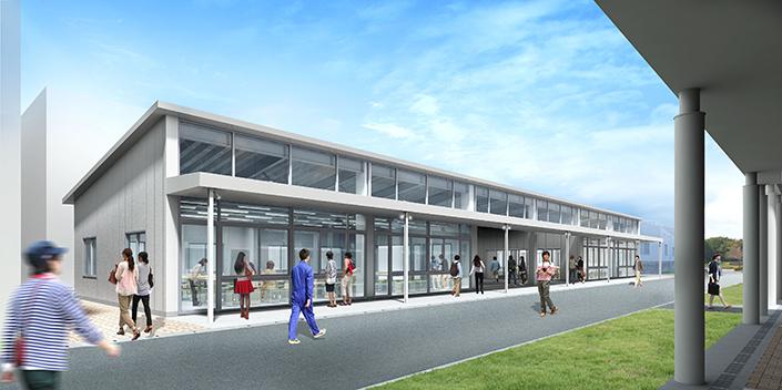 新校舎建築に伴う工事のお知らせ