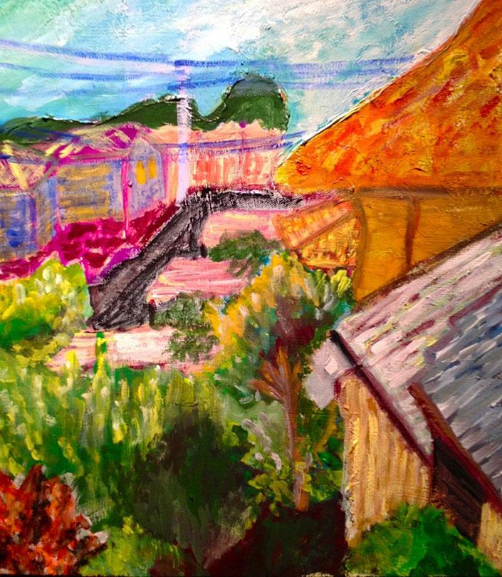 130716_1fukumot『風景画/自分の部屋の窓から見た景色』+『MY BOX』ヒロナカゼミ展 開催中!o