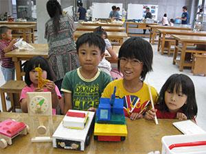 夏期親子工作教室を開催しました。