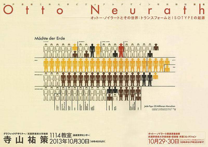 ビジュアルデザイン学科特別講義『オットー・ノイラートとその世界:トランスフォームとISOTYPEの起源』
