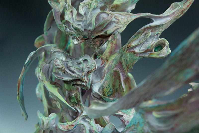 石野平四郎 出展作品 Title : Mantis affection