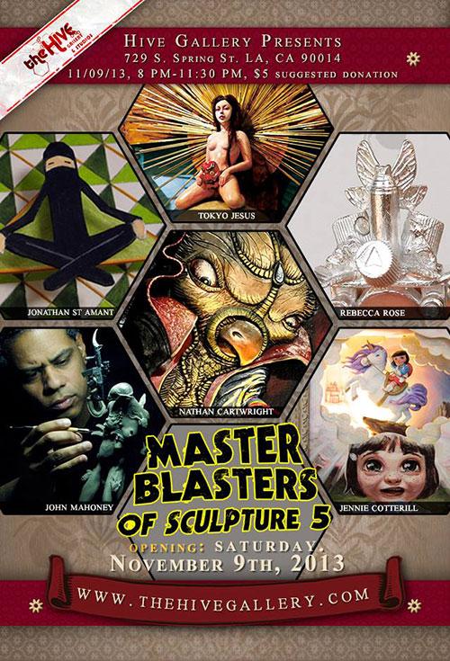 クラフト・美術学科 石野平四郎さん参加『Master Blasters of Sculpture 5』