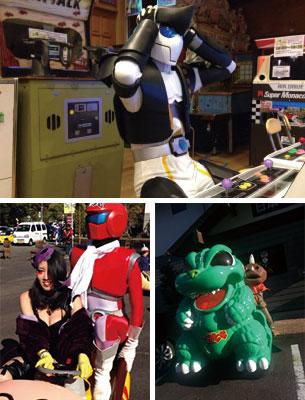特殊造形サークル参加 日本ゲーム博物館『バッテリーカーレース』『ヒーロー&怪人対抗アーケードゲーム選手権大会』
