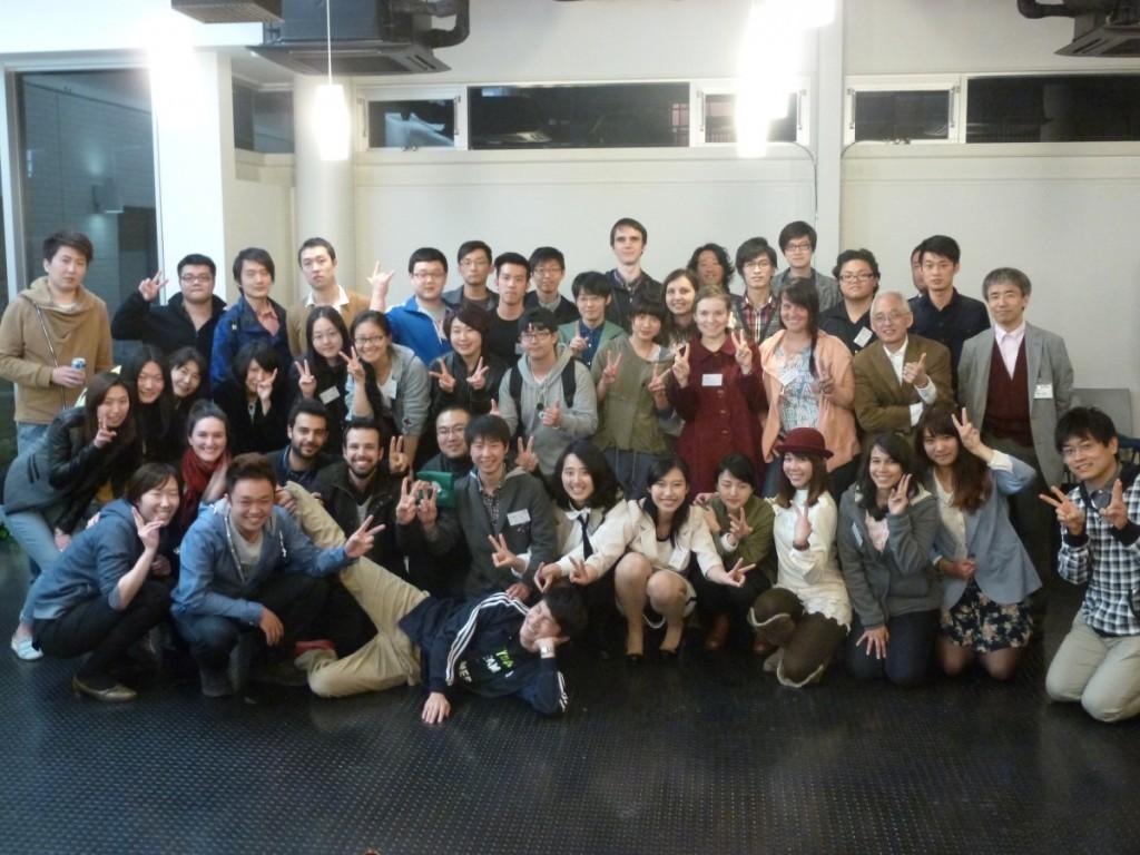 新入留学生歓迎会の様子