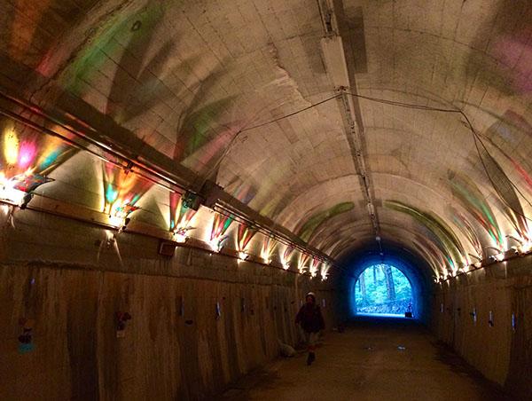 夢の葉トンネル