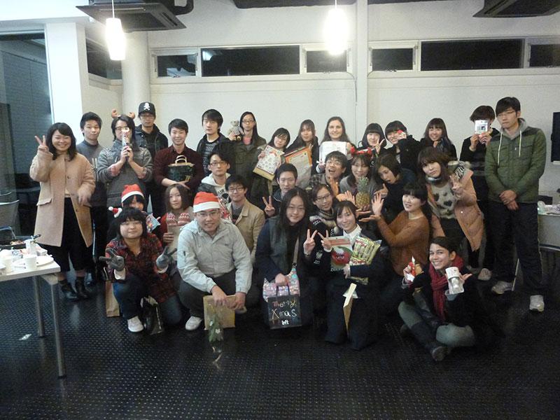 留学生クリスマスイベントを開催しました!