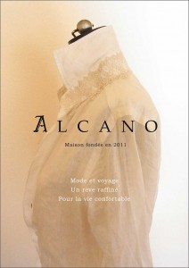 ALCANO Farfalle 2015AWコレクション