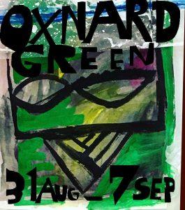 廣中薫個展 'Oxnard Green'