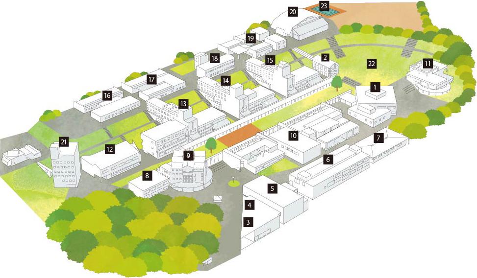 キャンパス・マップ