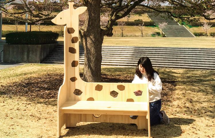 王子動物園ベンチ制作プロジェクト