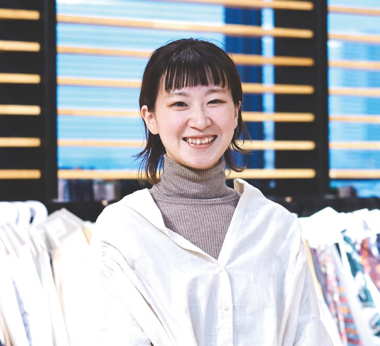 伊藤 美夏(2017年 テキスタイルデザインコース卒業)