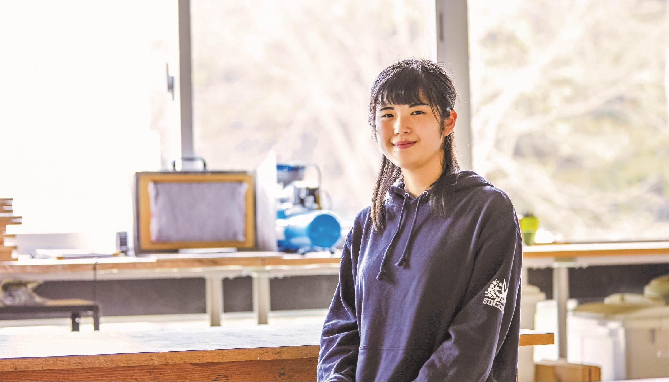 石井 風子(2019年 フィギュア・彫刻コース 卒業)
